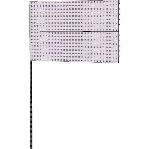 ■ヤマテック 壁面ハンガーパネルシステム W1200タイプ連結〔品番:WH-1218R-P2〕[TR-8178356]【個人宅配送不可】