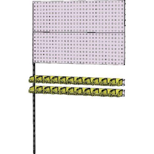 ■ヤマテック 壁面ハンガーパネルシステム W1200タイプ連結〔品番:WH-1218R-P2YY〕[TR-8178358]【個人宅配送不可】