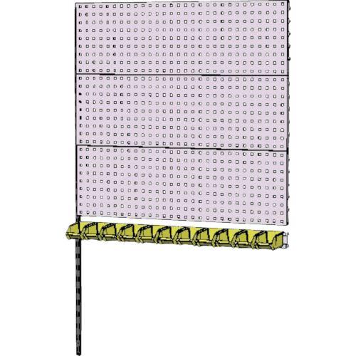 ■ヤマテック 壁面ハンガーパネルシステム W1200タイプ連結〔品番:WH-1218R-P3Y〕[TR-8178361]【個人宅配送不可】