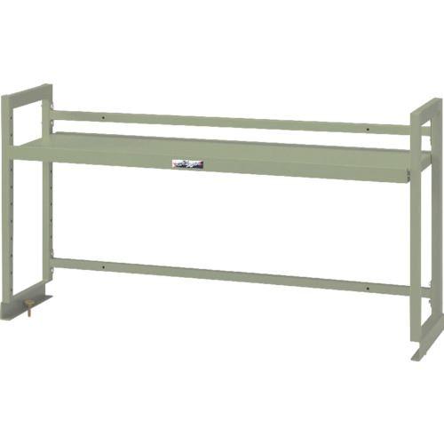 ■ヤマテック ワークテーブル架台 棚板1段タイプ〔品番:WK-1500-G〕[TR-8178368]【個人宅配送不可】