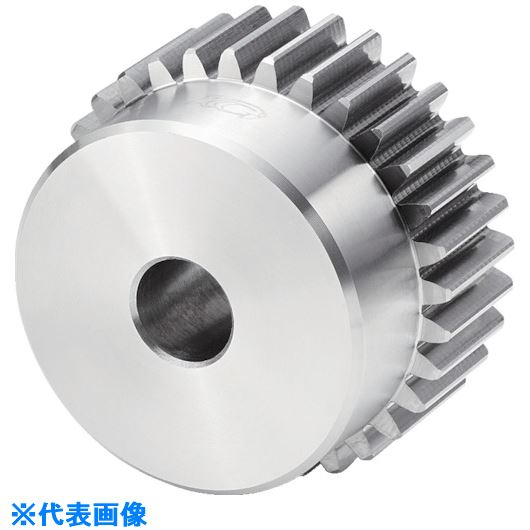 ■KG 平歯車 モジュール3.0 圧力角20度(並歯)BFシリーズ歯数50 形状B1  〔品番:S3S50BF-3015〕取寄[TR-8178981]