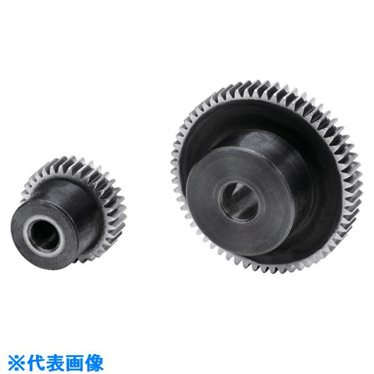 ■KG 歯研平歯車 モジュール0.5 圧力角20度(並歯)  〔品番:SGE50S90B-0506〕[TR-8179081]