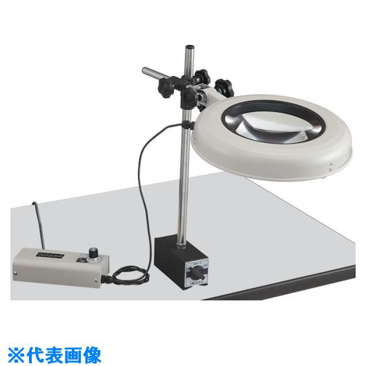 ■オーツカ 光学 LED照明拡大鏡 LEKワイド-MS型 3倍〔品番:LEK-MS〕[TR-8179107]【個人宅配送不可】