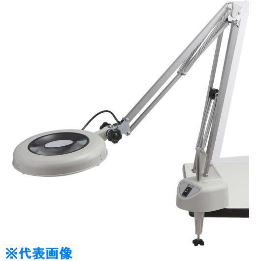 ■オーツカ 光学 LED照明拡大鏡 LEKSワイド-F型 4倍〔品番:LEKS-F〕[TR-8179117]【個人宅配送不可】