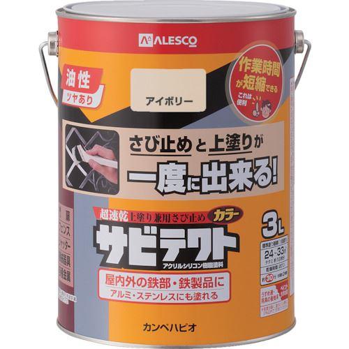 ■KANSAI サビテクト 3L アイボリー 4缶入 〔品番:109-026-3〕[TR-8179396×4]