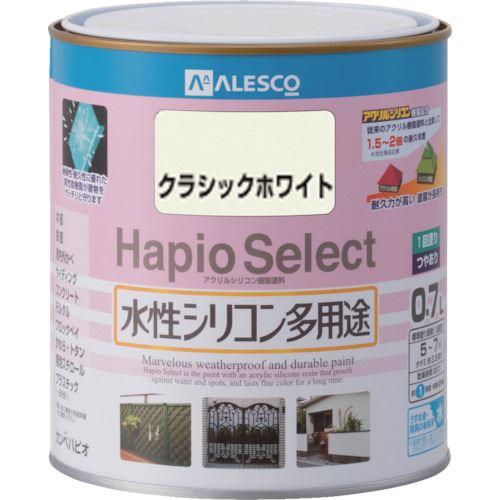 ■KANSAI ハピオセレクト 0.7L クラシックホワイト 6缶入 〔品番:616-211-0.7〕[TR-8179509×6]