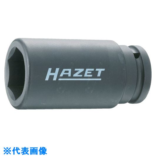 ■HAZET ロングインパクトソケットレンチ(6角タイプ・差込角19.0mm)〔品番:1000SLG-27〕[TR-8179700]