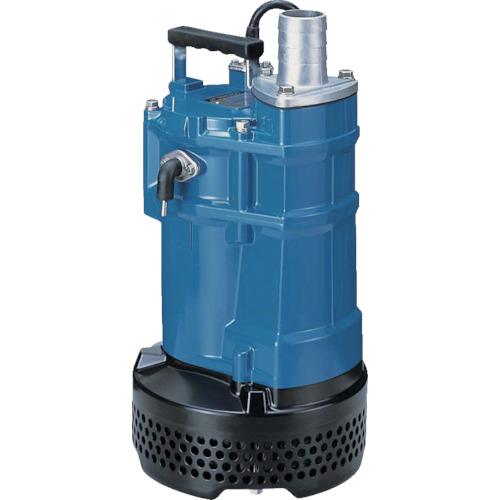 一般工事排水用水中ハイスピンポンプ ■ツルミ 口径80MM 三相200V 〔品番:KTVE33.7〕[TR-8179935][法人・事業所限定][直送元] 60HZ