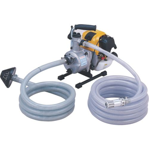 ■ツルミ 排水用エンジンポンプ 口径25MM  〔品番:TE3-25RCP〕[TR-8179938]【個人宅配送不可】