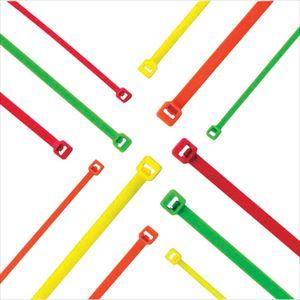 ■パンドウイット ナイロン結束バンド 蛍光緑 (1000本入)〔品番:PLT1M-M55〕[TR-8180380]