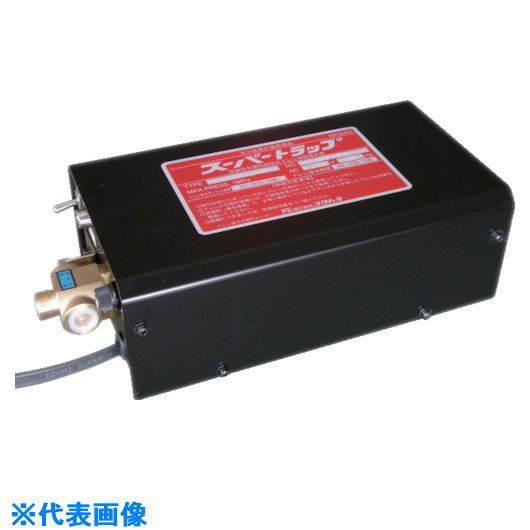 ■フクハラ 凍結防止型スーパートラップ  センサーなし  〔品番:ST220G-1-H〕外直送元[TR-8182581]【個人宅配送不可】