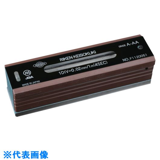 ■RKN 平型精密水準器 A級AA寸法150感度0.05  〔品番:RFL-AA1505〕[TR-8182770]