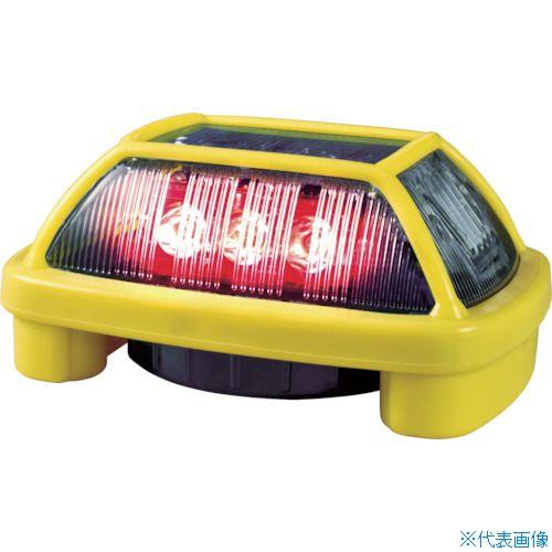 ■NIKKEI ニコハザードFAB VK16H型 LED警告灯 赤〔品番:VK16H-004F3R〕[TR-8183274]