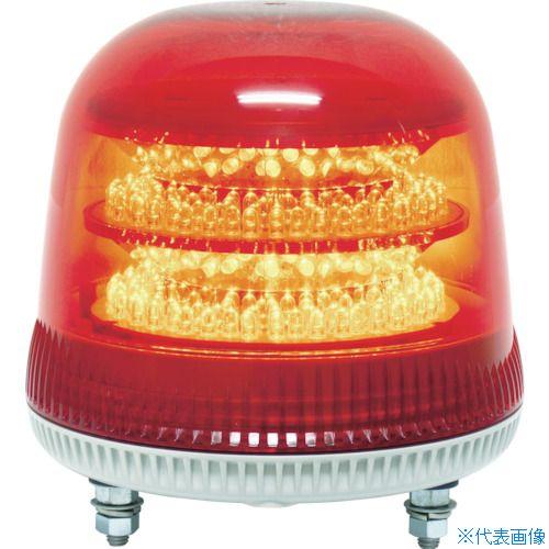 ■NIKKEI ニコモア VL17R型 LED回転灯 170パイ 赤〔品番:VL17M-200AR〕[TR-8183309]