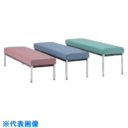 ■ミズノ 長椅子W1500×D470×H385 グリーン  〔品番:MC1825-SH385-GN〕[TR-8186219]