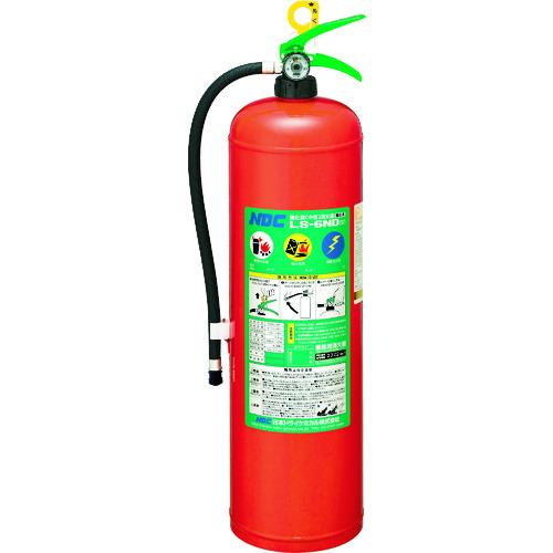 ■ドライケミカル 中性強化液消火器6型 蓄圧式  〔品番:LS-6ND(5)〕[TR-8186886]