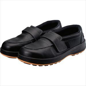 ■シモン 3層底救急救命活動靴(3層底) 24.5CM ブラック〔品番:WS17ER-24.5〕[TR-8192393]