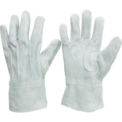 ■ミドリ安全 牛床革手袋 外縫 12双入 MT-102〔品番:MT-102〕[TR-8192525]