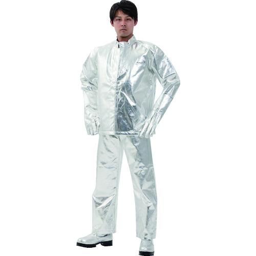 ■日本エンコン 全アルミ耐熱服 上衣〔品番:5010-L〕[TR-8192919]