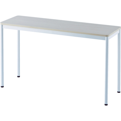 ■アールエフヤマカワ RFシンプルテーブル W1200×D400 ナチュラル〔品番:RFSPT-1240NA〕[TR-8195195]【大型・重量物・個人宅配送不可】