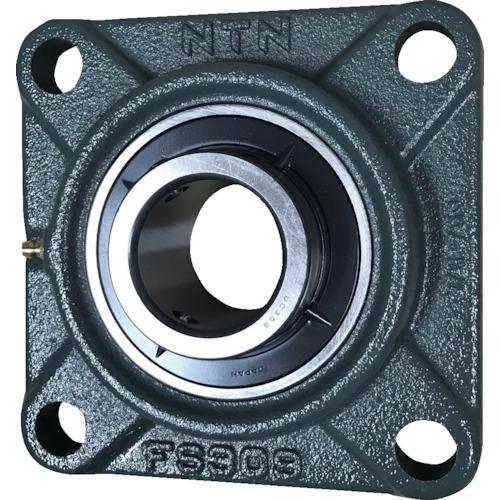■NTN G ベアリングユニット(円筒穴形、止めねじ式)軸径55mm内輪径55mm全長185mm〔品番:UCFS311D1〕[TR-8197103]
