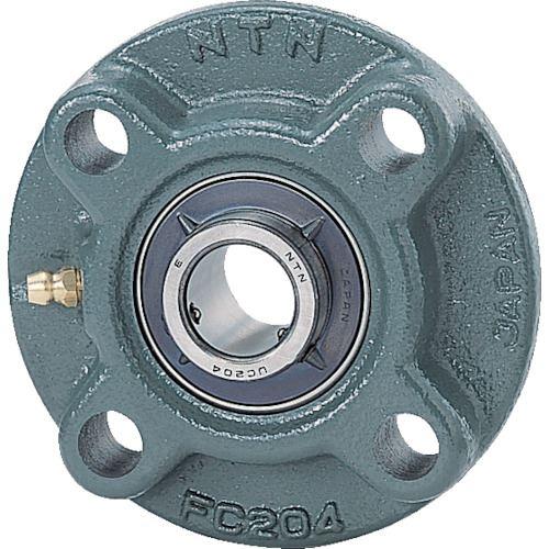 ■NTN G ベアリングユニット(円筒穴形、止めねじ式)軸径85mm全長250mm全高250mm〔品番:UCFC217D1〕[TR-8197137]