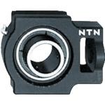 ■NTN G ベアリングユニット(円筒穴形止めねじ式)内輪径90mm全長312mm全高255mm〔品番:UCT318D1〕[TR-8197193]
