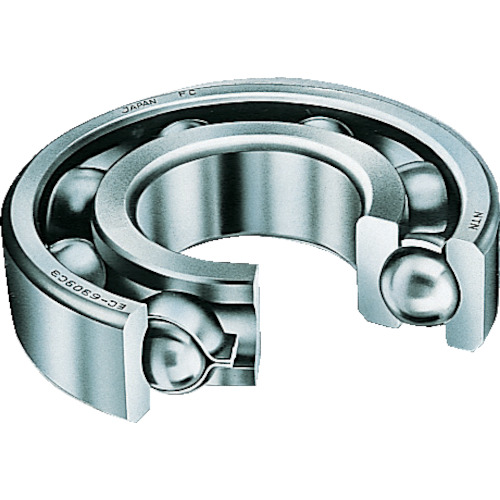 ■NTN H大形ベアリング(開放タイプ)内輪径190mm外輪径290mm幅46mm〔品番:6038〕[TR-8198047]