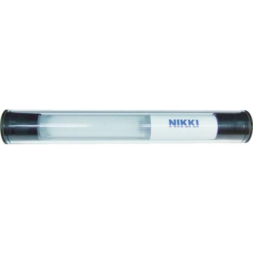 ■日機 防水型LED照明灯 12W AC100~240V  〔品番:NLL18CG-AC〕[TR-8199214]【大型・重量物・個人宅配送不可】
