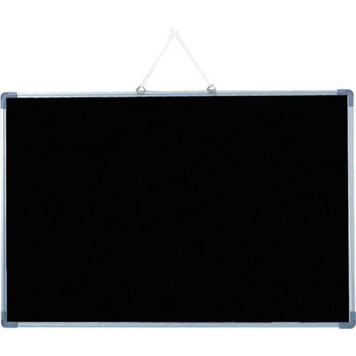 ■光 アルミ枠ブラックボード600×900MM 5枚入 〔品番:ABB6007〕取寄[TR-8200605×5]