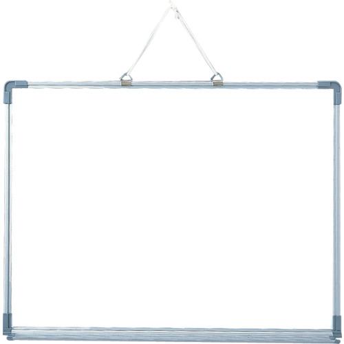 ■光 アルミ枠ホワイトボード(トレイ付)《5枚入》〔品番:AWB4507〕[TR-8200637×5]