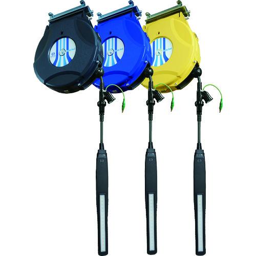 ■日平 リール LEDランプリール 10M〔品番:HEP-610EV-BL〕[TR-8202935]