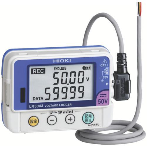 ■HIOKI 電圧ロガー  〔品番:LR5043〕取寄[TR-8206403]