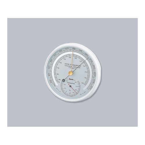 ■AS アネロイド気圧計SBR151  〔品番:1-6415-01〕[TR-8209729]「送料別途見積り」・「法人・事業所限定」・「掲外取寄」