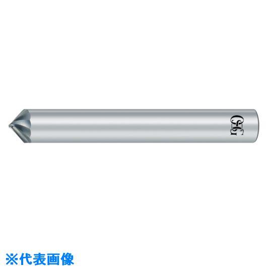 ■OSG 超硬エンドミル 2刃 銅・アルミ合金用 スパイラル面取り8501306  〔品番:CA-SCC-1X45X6〕掲外取寄[TR-8220025]