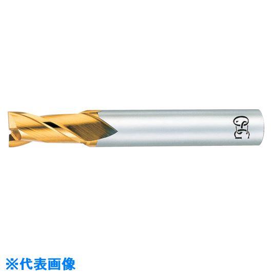 ■OSG ハイススクエアエンドミル TINコート2刃ショート 8402085  〔品番:EX-TIN-EDS-18.5〕掲外取寄[TR-8226673]