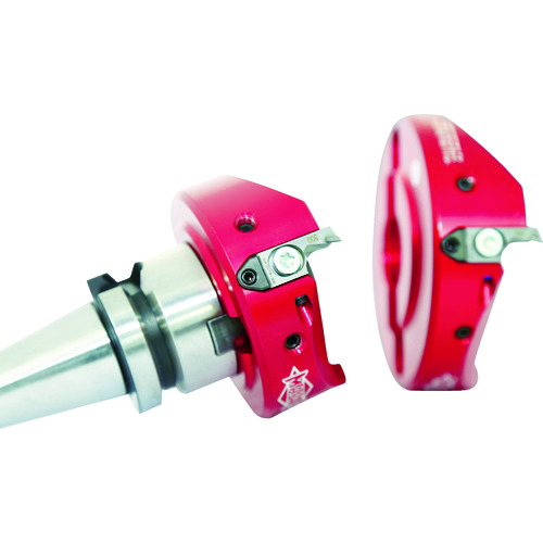 ■マパール FLY-CUTTER(CFM901) アルミ加工用軽量型カッター  〔品番:CFM901-140-CA27-Z04R-FMC-A〕[TR-8230580]