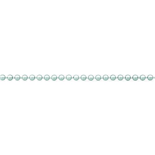 ■ニッサチェイン 真ちゅうクロームボールチェイン 5.0MM×30M  〔品番:BB1050〕[TR-8246023]