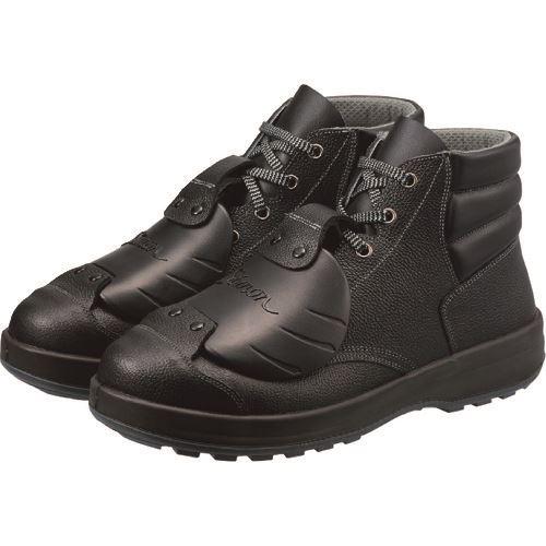 ■シモン 安全靴甲プロ付 編上靴 SS22D-6 24.5CM  〔品番:SS22D-6-24.5〕[TR-8246190]