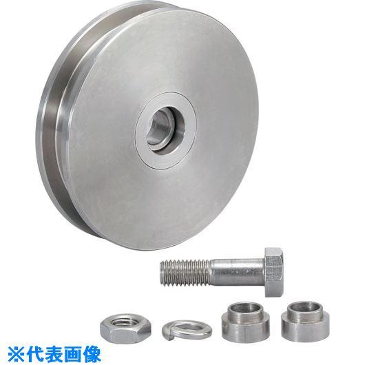 ■スガツネ工業 (200024761)JS380-110Hステンレス鋼製重量用戸車  〔品番:JS380-110H〕取寄[TR-8246864]