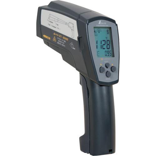 ■シンワ 放射温度計H_デュアルレーザーポイント機能付_放射率可変タイプ  〔品番:73100〕[TR-8252446]