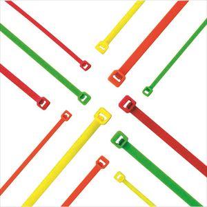 ■パンドウイット ナイロン結束バンド 蛍光オレンジ (1000本入)〔品番:PLT1M-M53〕[TR-8257320]