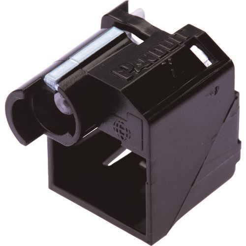 ■パンドウイット パッチコードロック 黒 100個入り PSL-DCPLRX-BL-C  〔品番:PSL-DCPLRX-BL-C〕[TR-8257350]