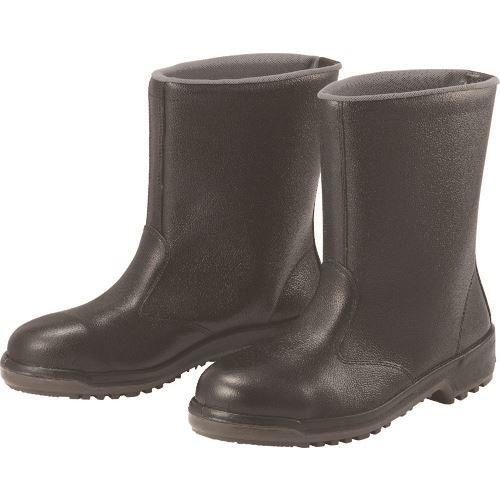 ■ミドリ安全 安全半長靴 27.5CM  〔品番:MZ040J-27.5〕[TR-8258609]