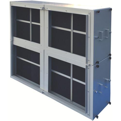■ミドリ安全 厨房排気用脱臭ユニット KCU  〔品番:KCU-2KM-162〕[TR-8258832]【大型・重量物・個人宅配送不可】