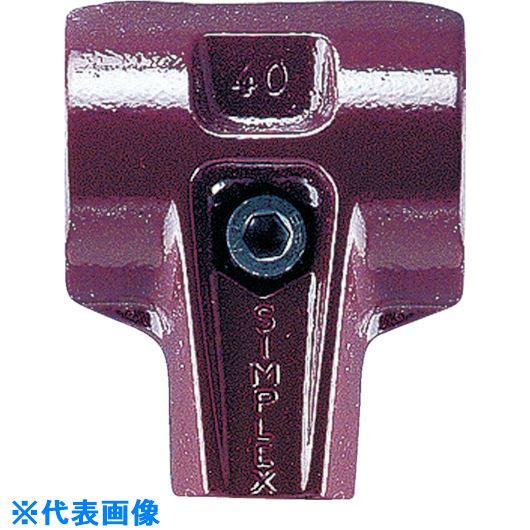 ■HALDER シンプレックス用ハウジング 可鍛鋳鉄製 径125/140兼用〔品番:3011.125〕[TR-8259352]