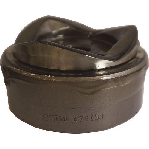 ■エビ パンチダイス薄鋼用 A75  〔品番:A75〕取寄[TR-8264475]