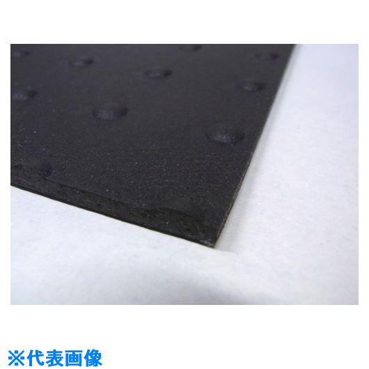 ■MF ブラックターフ 凹凸あり 5mm〔品番:BT001〕[TR-8265705]【個人宅配送不可】
