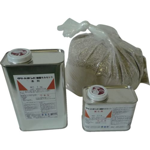 ■ABC クリートボンド 樹脂モルセット 9KGセット  〔品番:CEM999SZ〕[TR-8265729]