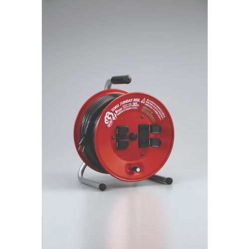 ■ハタヤ 温度センサー付コードリール 単相100V30M  〔品番:D-30S〕掲外取寄[TR-8278979]